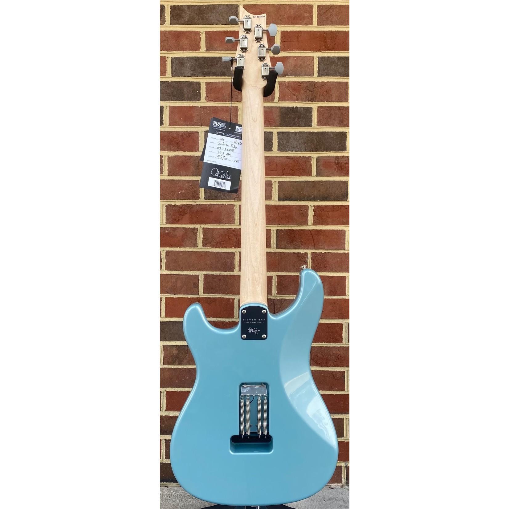 Paul Reed Smith Paul Reed Smith John Mayer Silver Sky, Polar Blue, Maple Fretboard