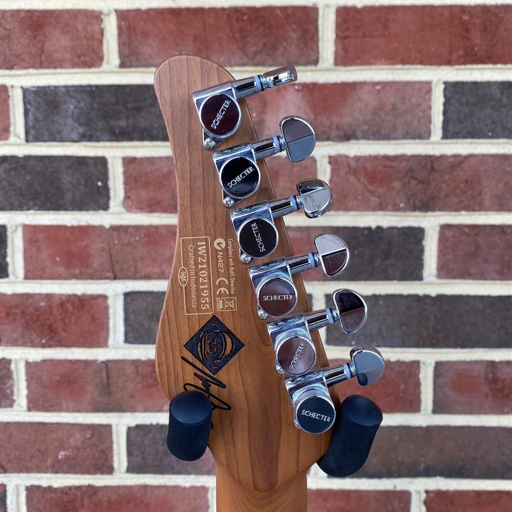 Schecter Guitar Research Schecter Nick Johnston Traditional, Atomic Ink, Roasted Maple Neck, Roasted Maple Fretboard