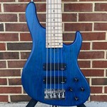 Sadowsky Sadowsky MetroLine 24-Fret Modern, 5-String, Swamp Ash Body, Ocean Blue Transparent Satin, Maple Fretboard
