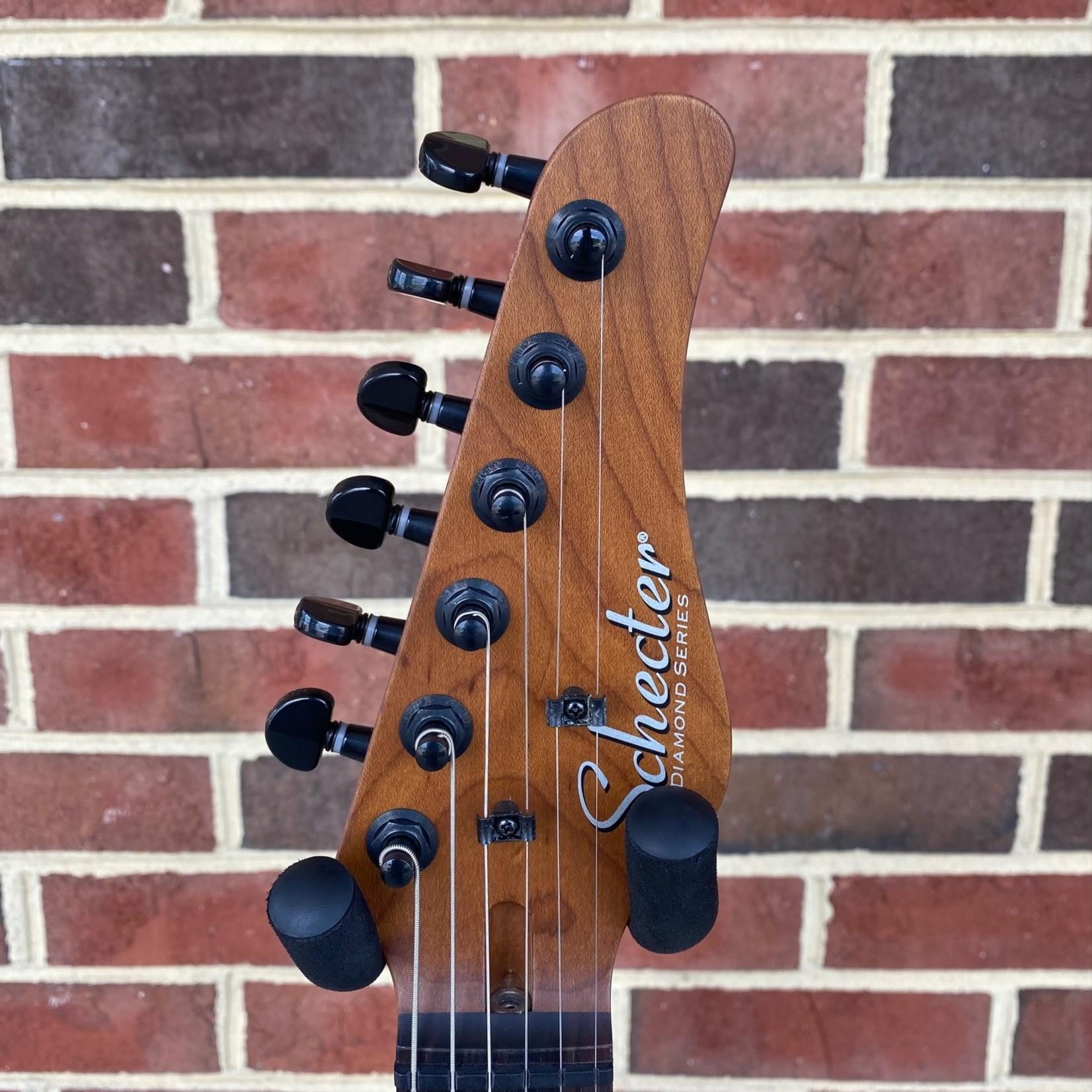 Schecter Guitar Research Schecter PT Pro, Trans Purple Burst, Roasted Maple Neck, Ebony Fretboard, Locking Tuners