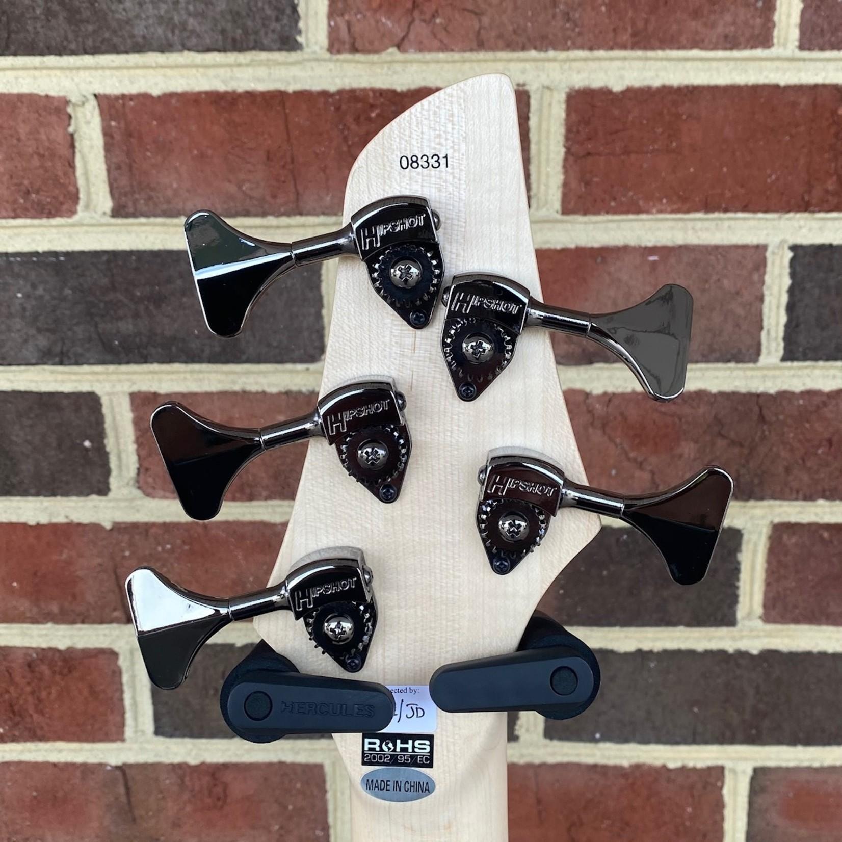 Dingwall Dingwall NG3 5-String, Black, Maple Fretboard, Matching Headstock, Gig Bag