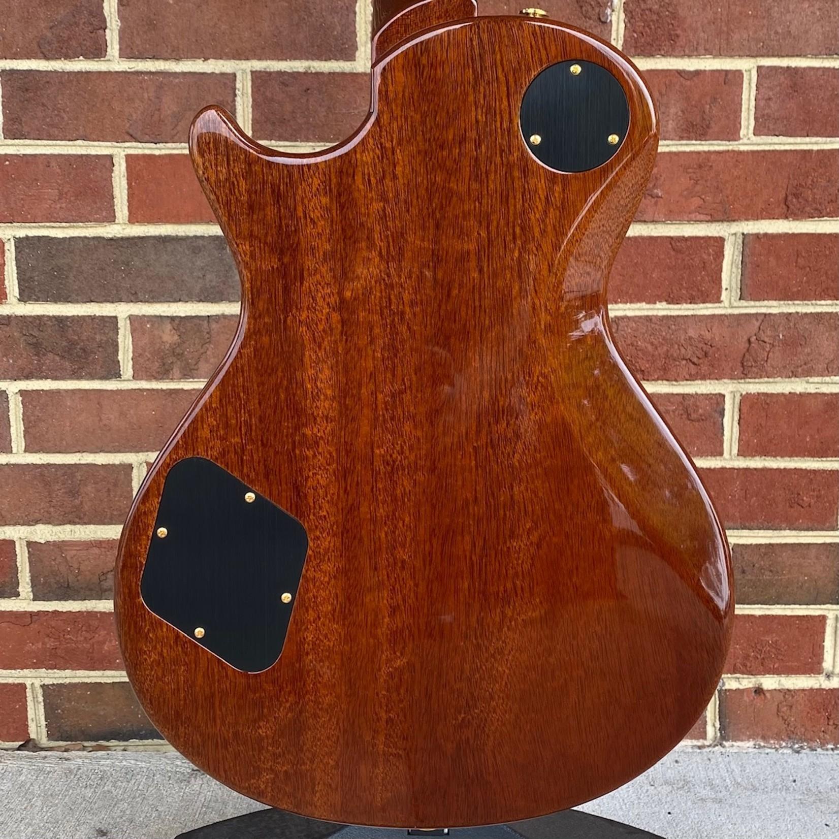 Paul Reed Smith Paul Reed Smith McCarty 594 Singlecut, 10 Top, Orange Tiger, Hybrid Hardware, 58/15 LT+ TCI Pickups, Pattern Vintage Neck, Hardshell Case
