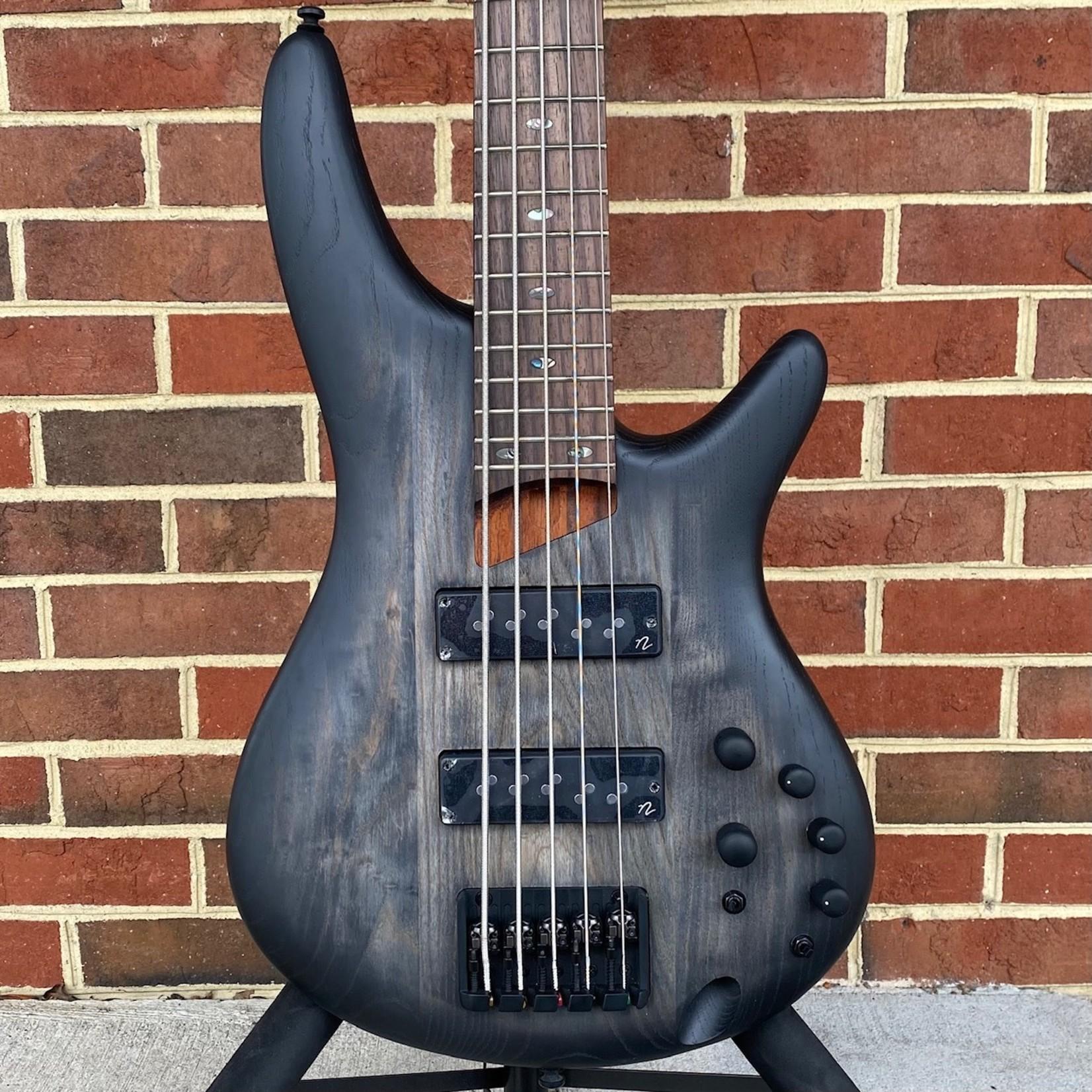 Ibanez Ibanez SR605EBKT, 5-String Bass, Black Stained Burst, Nordstrand Pickups, Ash Body