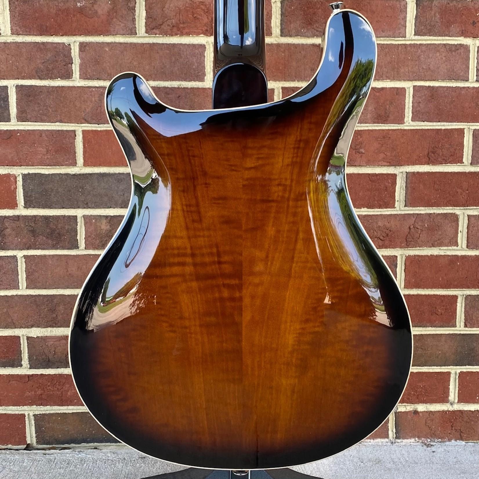 Paul Reed Smith Paul Reed Smith SE Hollowbody II Piezo, Black Gold, Ebony Fretboard, Hardshell Case