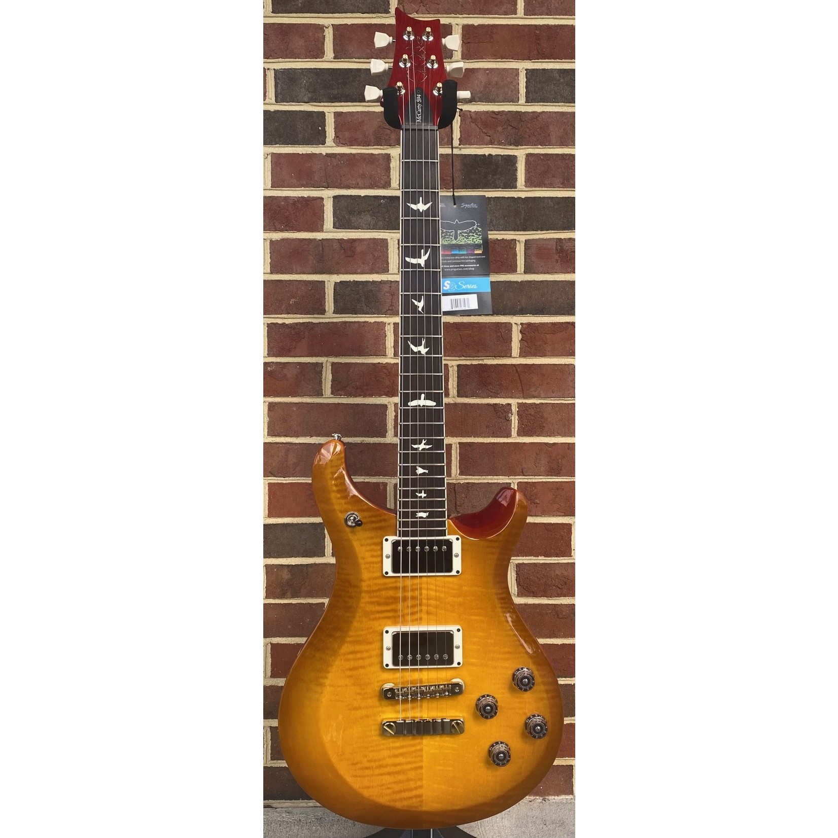 Paul Reed Smith Paul Reed Smith S2 McCarty 594, McCarty Sunburst, Pattern Vintage Neck, Gig Bag