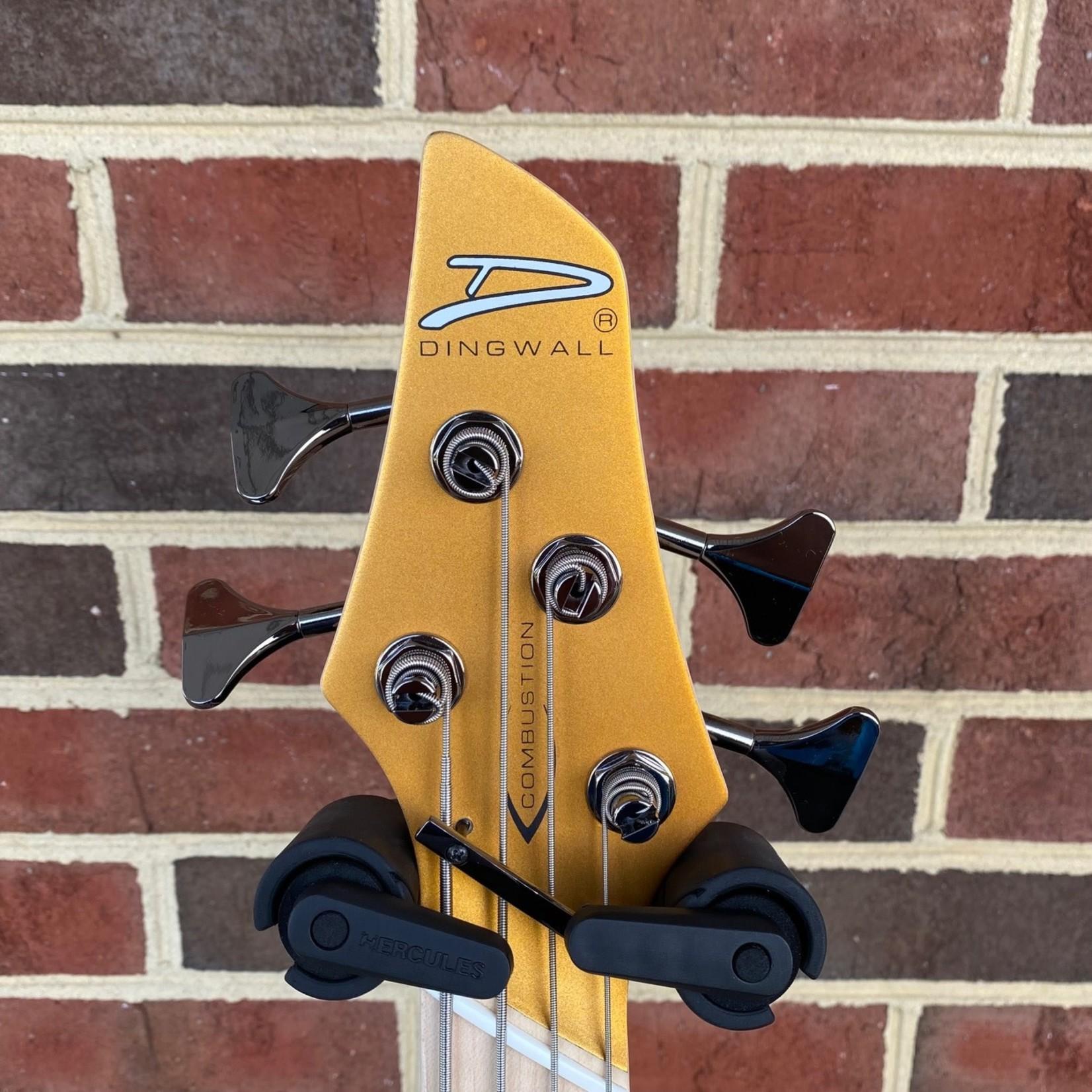 Dingwall Dingwall NG3 4-String, Matte Gold Metallic, Maple Fretboard, Matching Headstock, Dingwall Gig Bag, SN# 9214