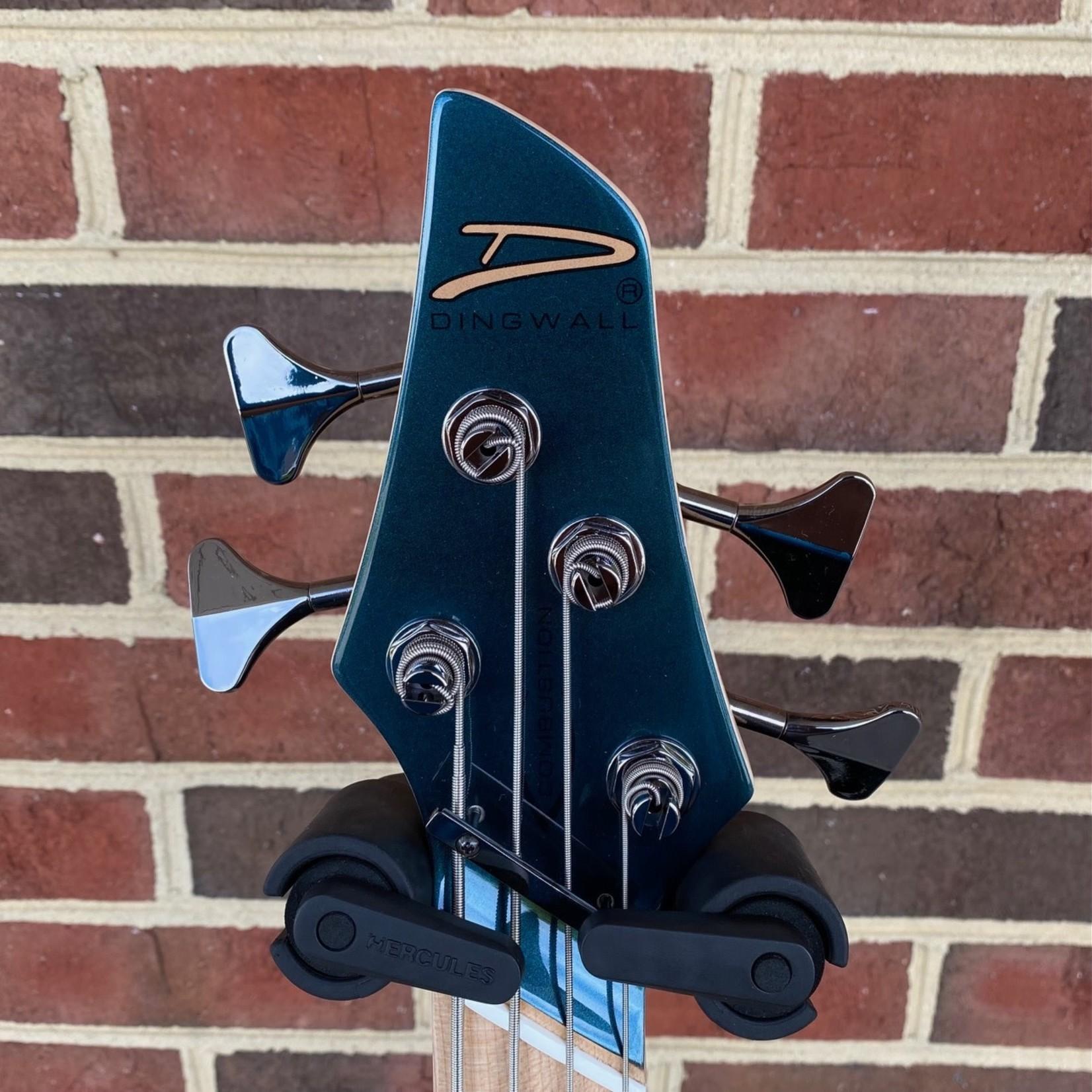 Dingwall Dingwall NG3 4-String, Gloss Black Forest Green, Maple Fretboard, Matching Headstock, Dingwall Gig Bag, SN# 9221