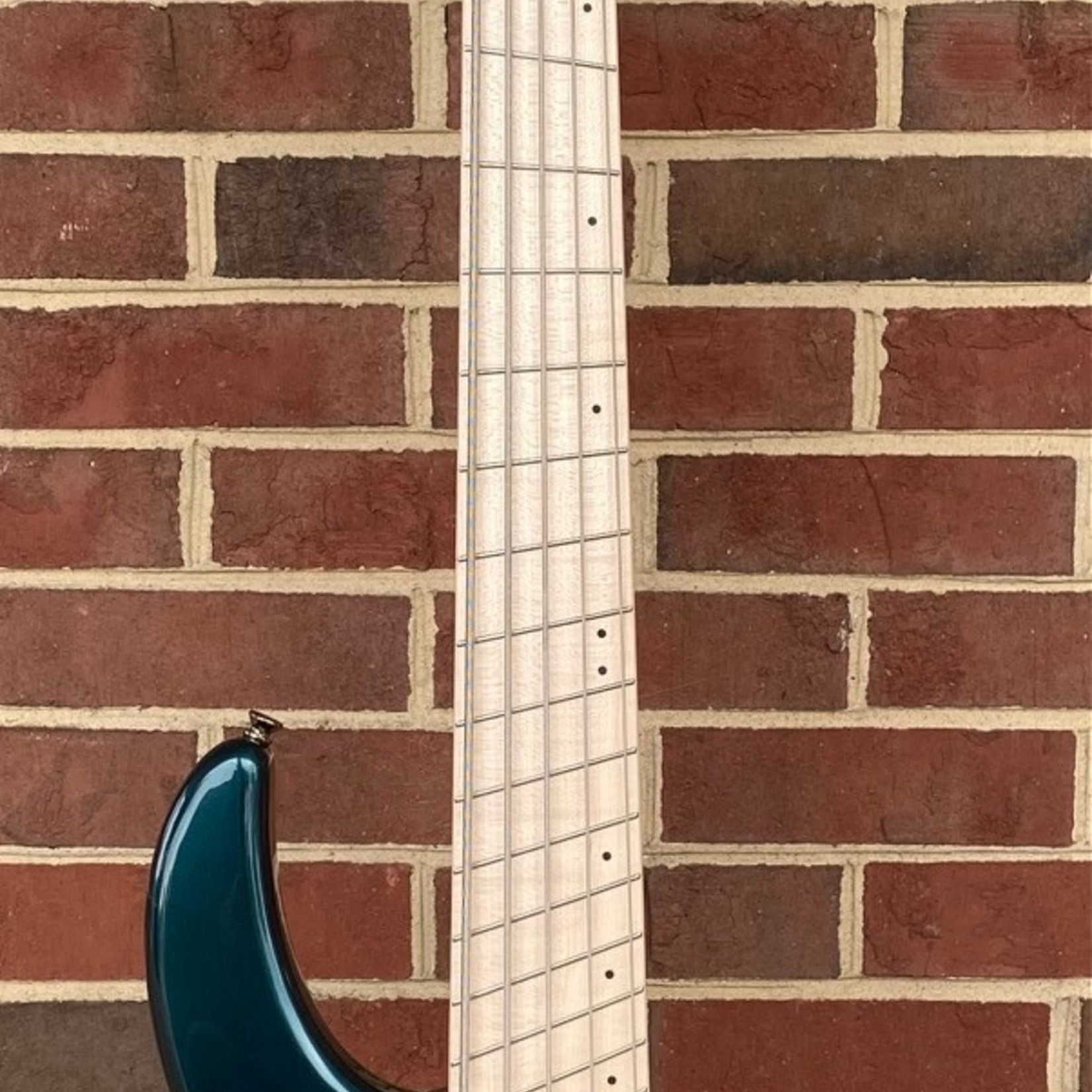 Dingwall Dingwall NG3 5-String, Gloss Black Forrest Green, Maple Fretboard, Matching Headstock, Dingwall Gig Bag, SN# 8977