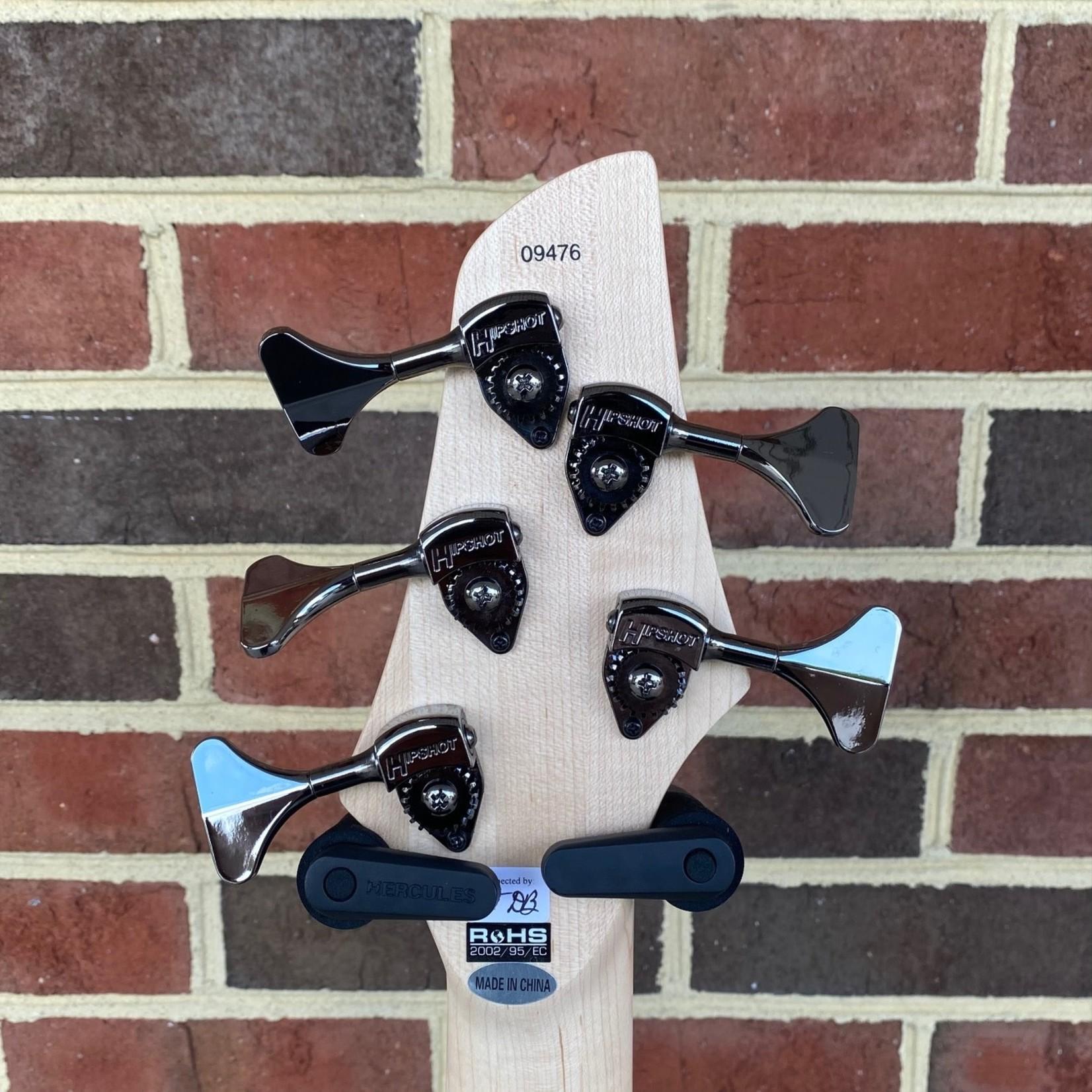 Dingwall Dingwall NG2 5-String, Ducati Matte White, Maple Fretboard, Matching Headstock, Dingwall Gig Bag, SN# 9476