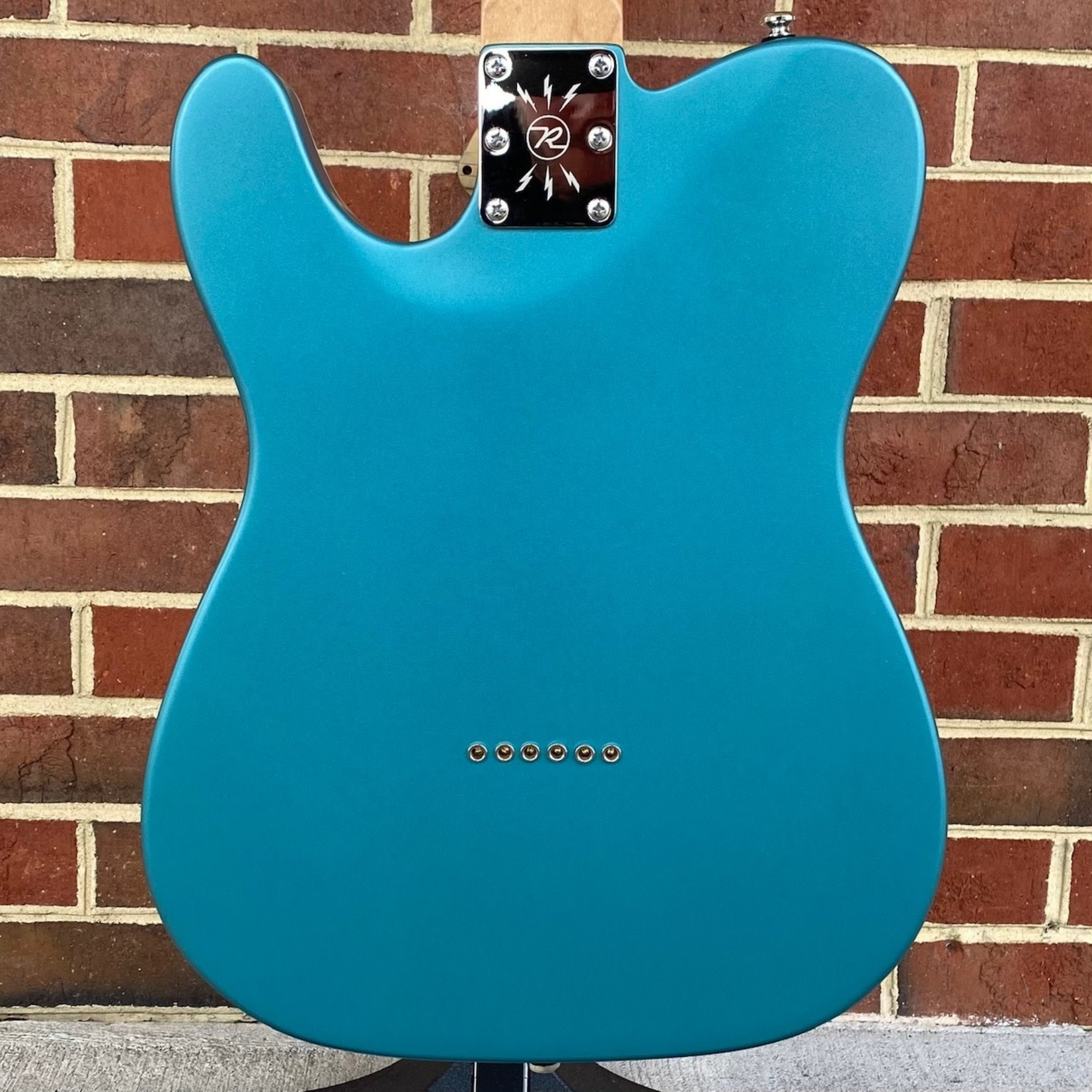 Reverend Reverend Guitars Pete Anderson Eastsider T, Satin Deep Sea Blue, Roasted Maple Neck and Fretboard, SN# 46085
