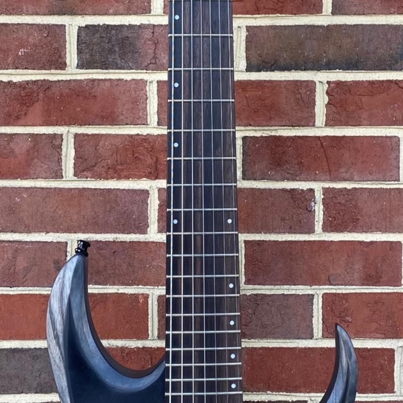 Ibanez Ibanez RGD71ALPACKF Axion Label, Charcoal Burst Black Stained Flat, Bareknuckle Aftermath Pickups, SN# I210323557