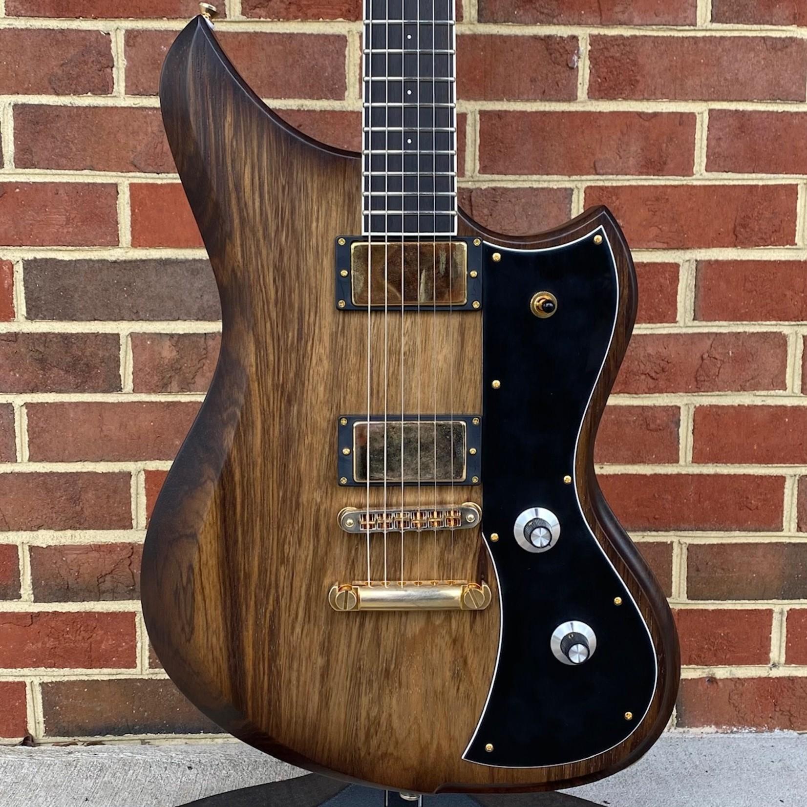 Dunable Guitars Dunable Guitars USA Custom Shop Yeti, Black Limba Body, Shaded Edge Burst, Ebony Fretboard w/ White Binding, Baphomet Pickups, Aged Gold Hardware, Hardshell Case, SN# 21207
