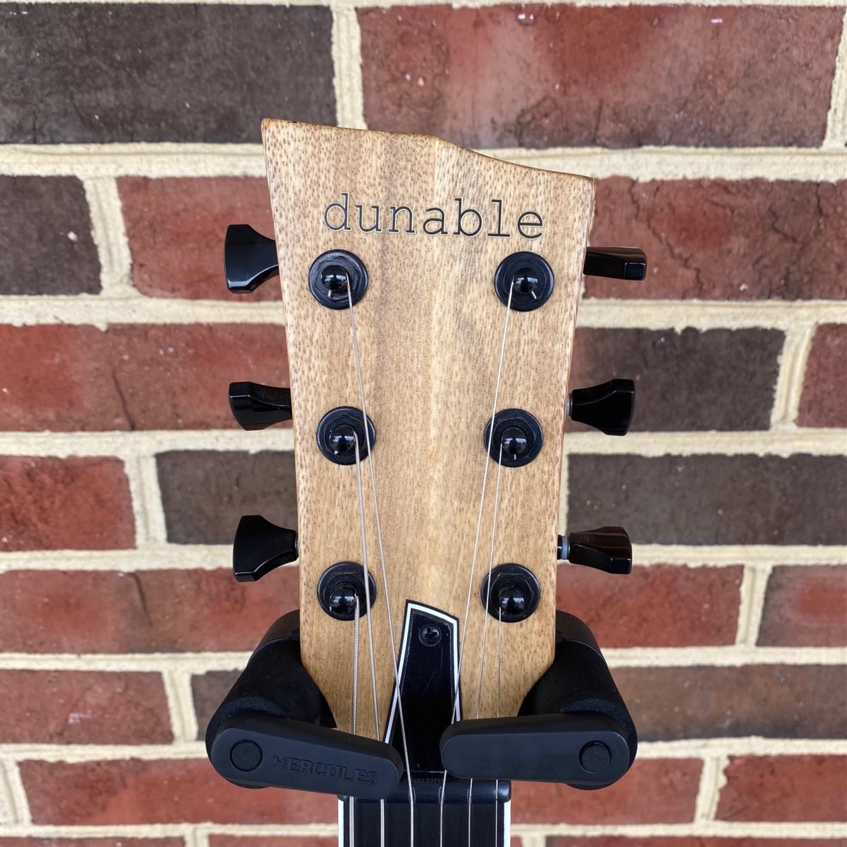 Dunable Guitars Dunable Guitars USA Custom Shop Asteroid, Black Limba Body, No Pickguard, Direwolf Pickups, Locking Tuners, SN# 21206