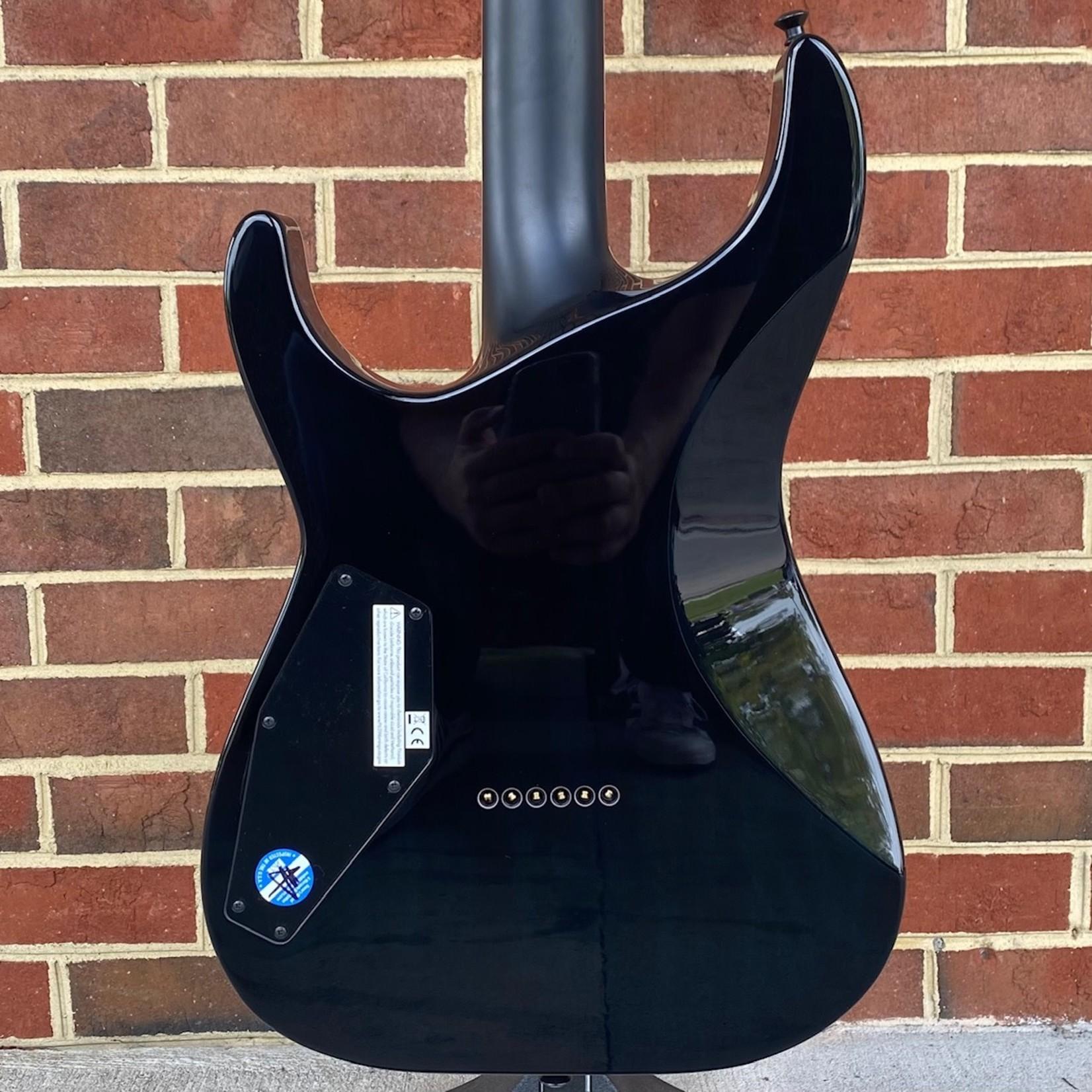 ESP ESP E-II M-II NT Hipshot, Black Turqouise Burst, Bare Knuckle Pickups, Maple Fretboard, Hardshell Case