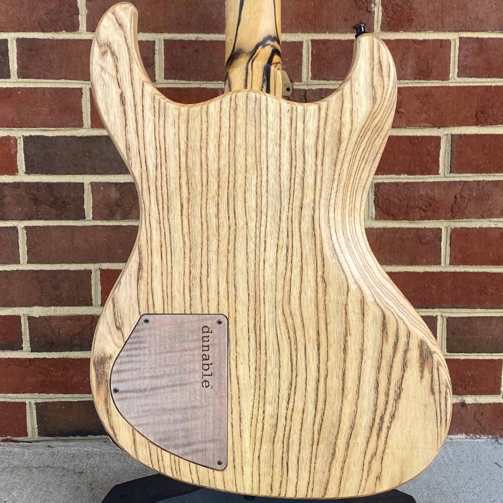 Dunable Guitars Dunable Guitars USA Special Stash #1 - Gnarwhal, One Piece Buckeye Burl Top w/ Gold Sparkle Resin Fill, Swamp Ash Body, Pale Moon Ebony Neck, Pale Moon Ebony Fretboard, Hardshell Case