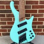 Ibanez Ibanez EHB1005MSSFM, Bass Workshop Headless Multi-Scale Bass, 5-String, Seafoam Green Matte, SN# 211P01I201208257, B-Stock