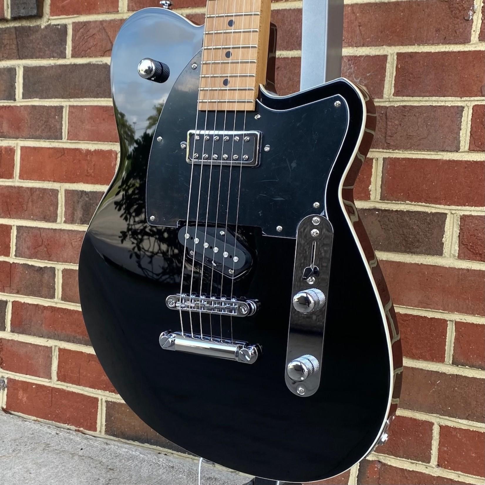 Reverend Reverend Guitars Buckshot, Midnight Black, Roasted Maple Neck, Korina Body, Locking Tuners