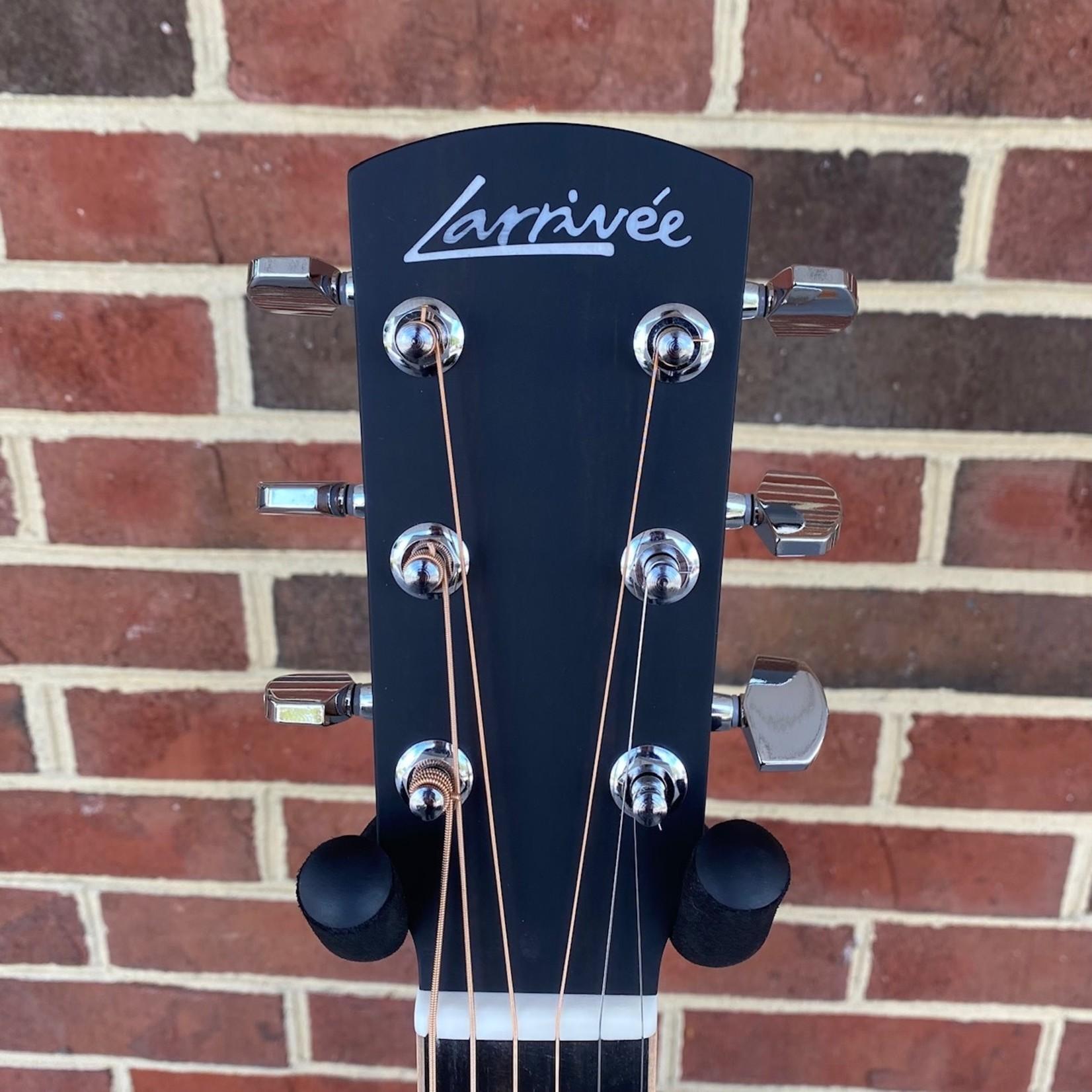 Larrivee Larrivee L-03-MH, Sitka Spruce Top, Mahogany Back and Sides, Ebony Fretboard and Bridge, Maple Binding, Hardshell Case, SN# 136734