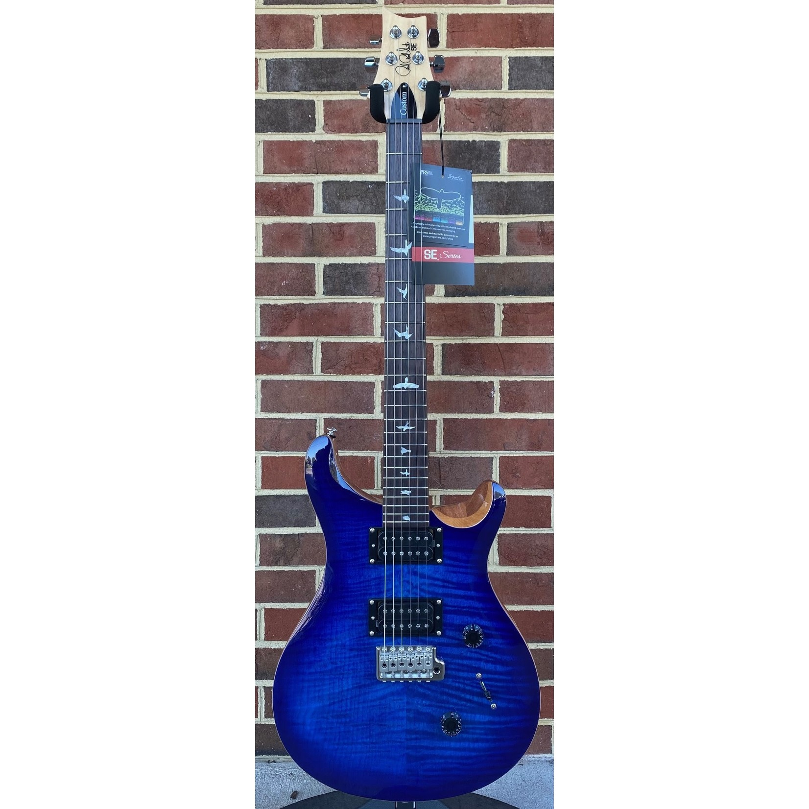 Paul Reed Smith Paul Reed Smith SE Custom 24, Faded Blue Burst, Gig Bag
