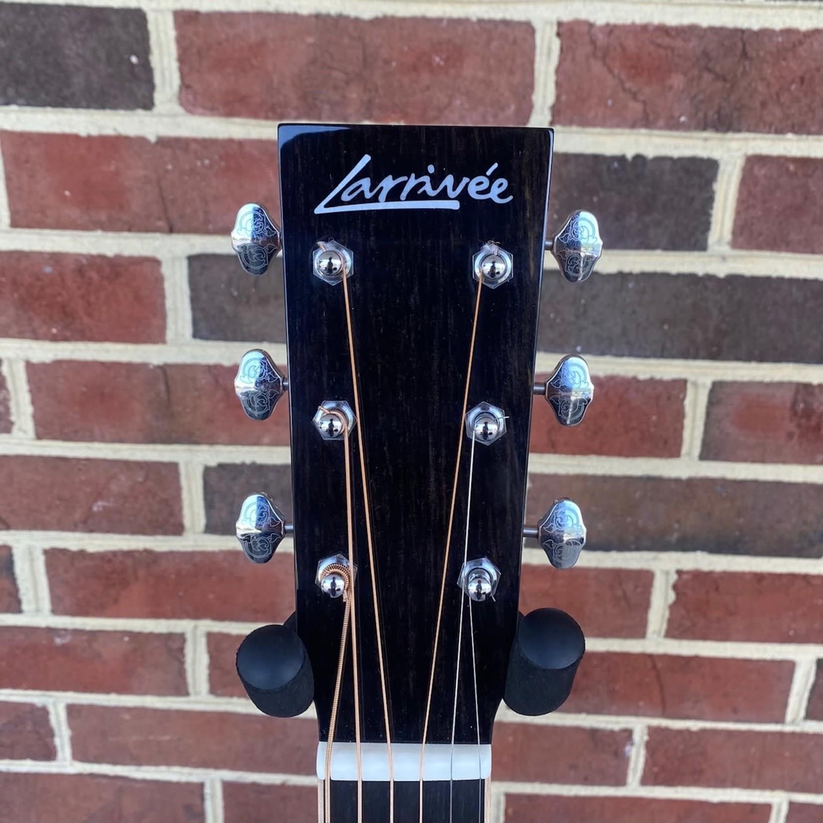 Larrivee Larrivee OM-44RE, Indian Rosewood Back and Sides, Moon Spruce Top, LR Baggs Anthem No Cut Electronics, Hardshell Case