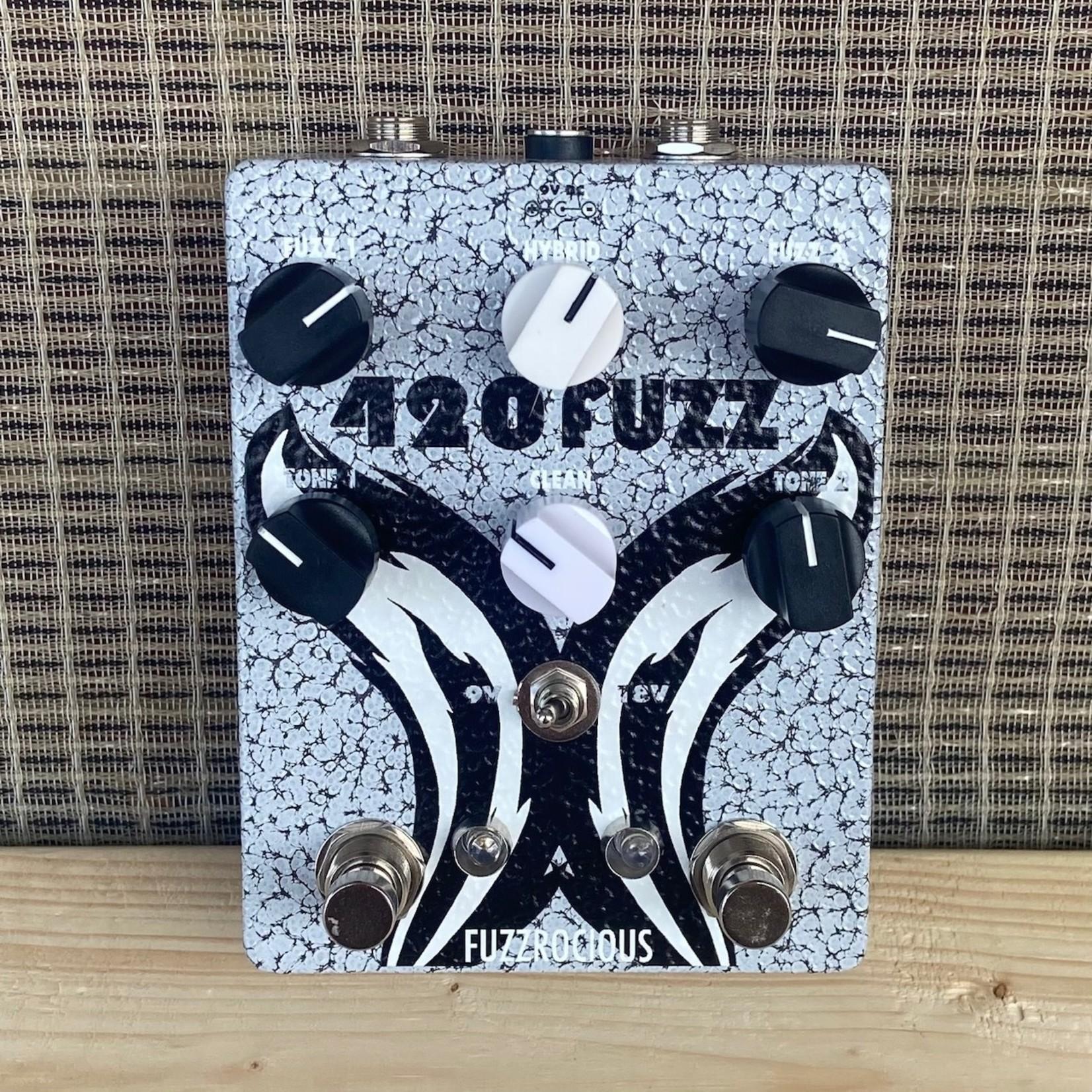 Fuzzrocious Fuzzrocious 420 Fuzz v2, Crackle Grey