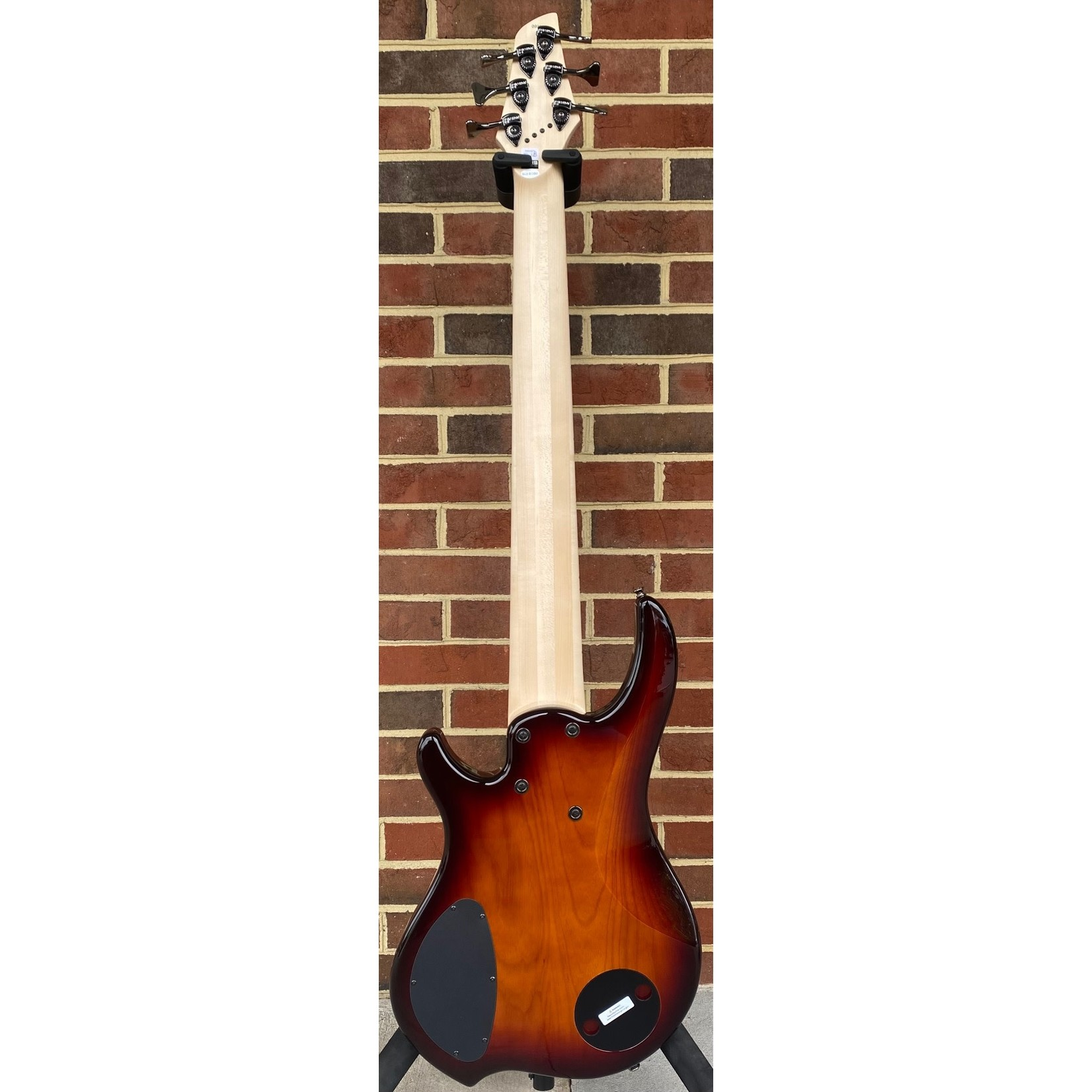 Dingwall Dingwall Combustion 6-String, 3x Pickups, Vintageburst, Quilted Maple Top, Swamp Ash Body, Maple Fretboard, Dingwall Gig Bag, SN# 9936