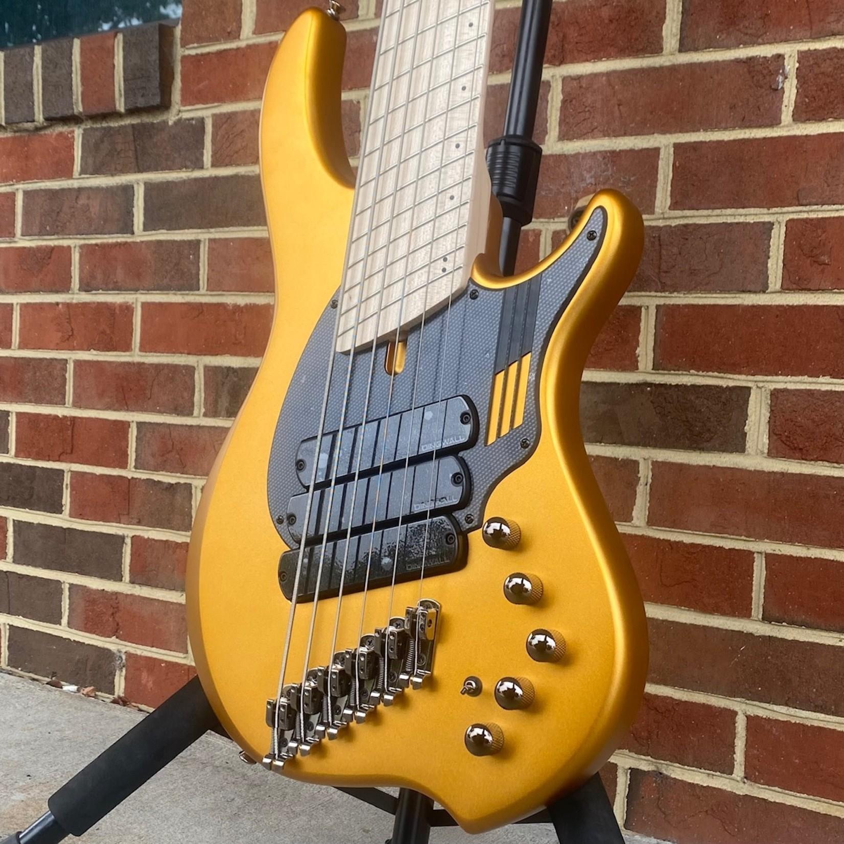 Dingwall Dingwall NG3 6-String, Matte Gold Metallic, Maple Fretboard, Matching Headstock, Dingwall Gig Bag, SN# 10069