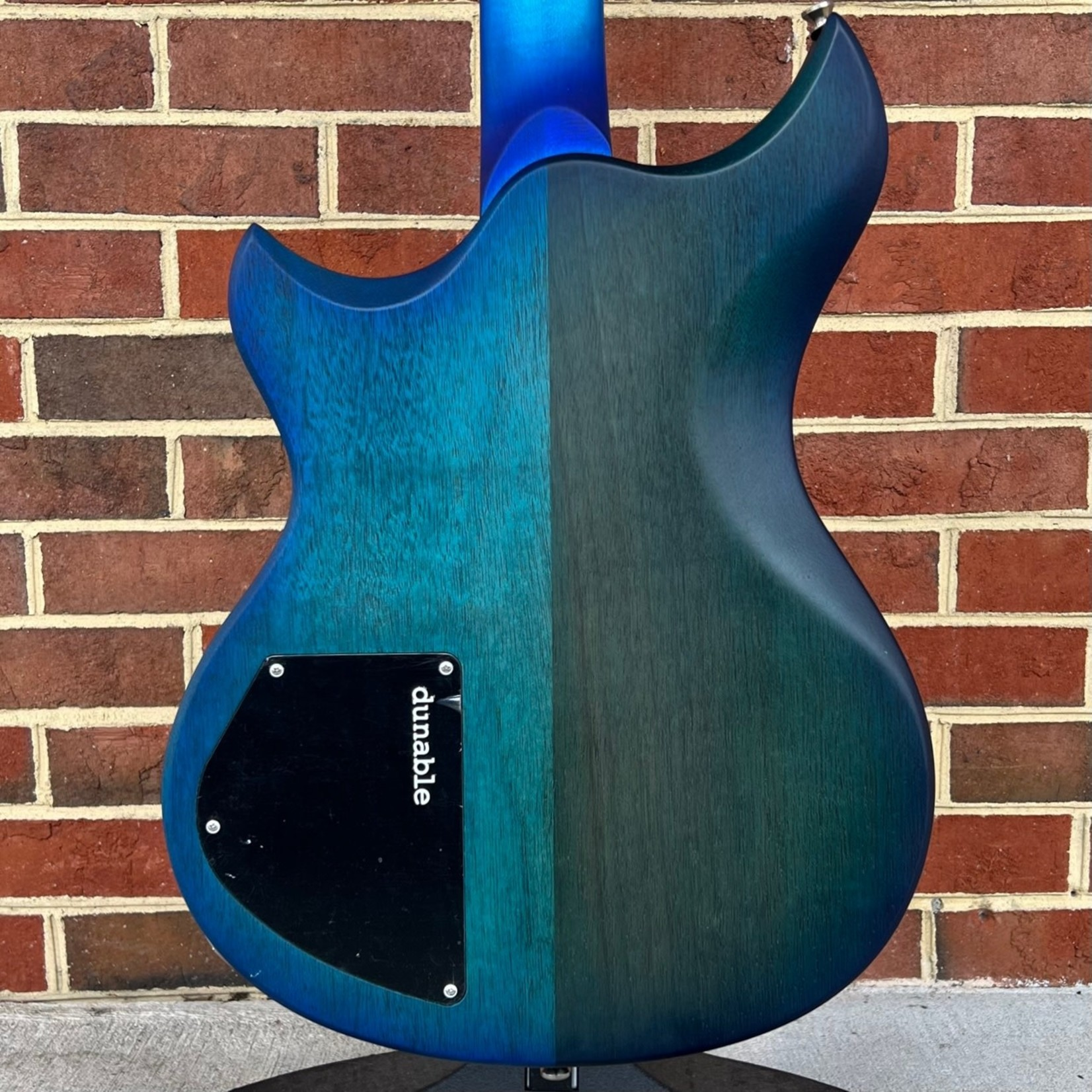 Dunable Guitars Dunable Guitars USA Custom Shop Cyclops, Aqua Burst, Burl Maple Top, Mahogany Body, Stained Aqua Burst Maple Fretboard, Block Inlays, Hardshell Case