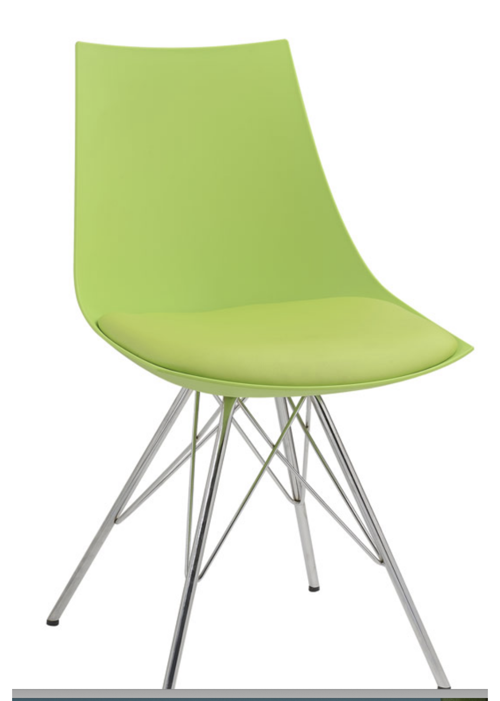 New DINING CHAIR-GREEN (EH D119CHR-32-08)