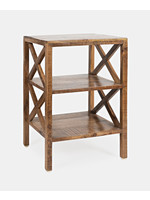 New JO 1730-34 Global Archive Dylan X-Side Table Espresso