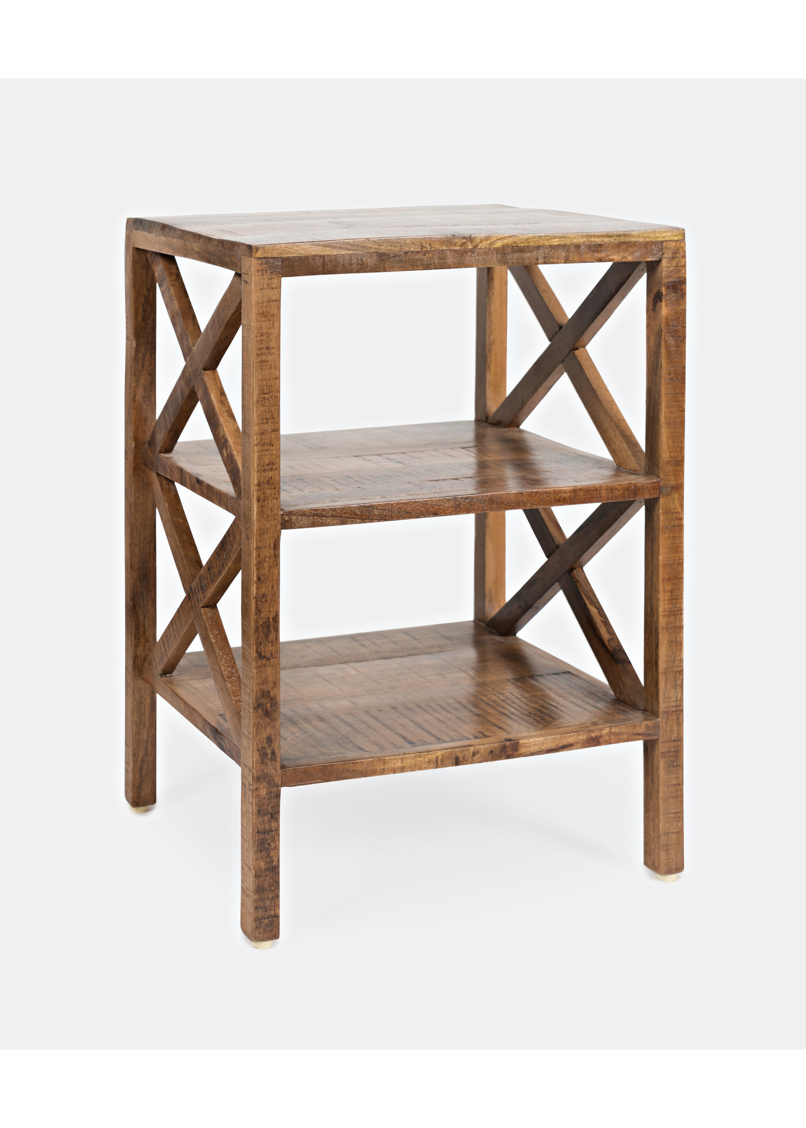 New Global Archive Dylan X-Side Table Espresso