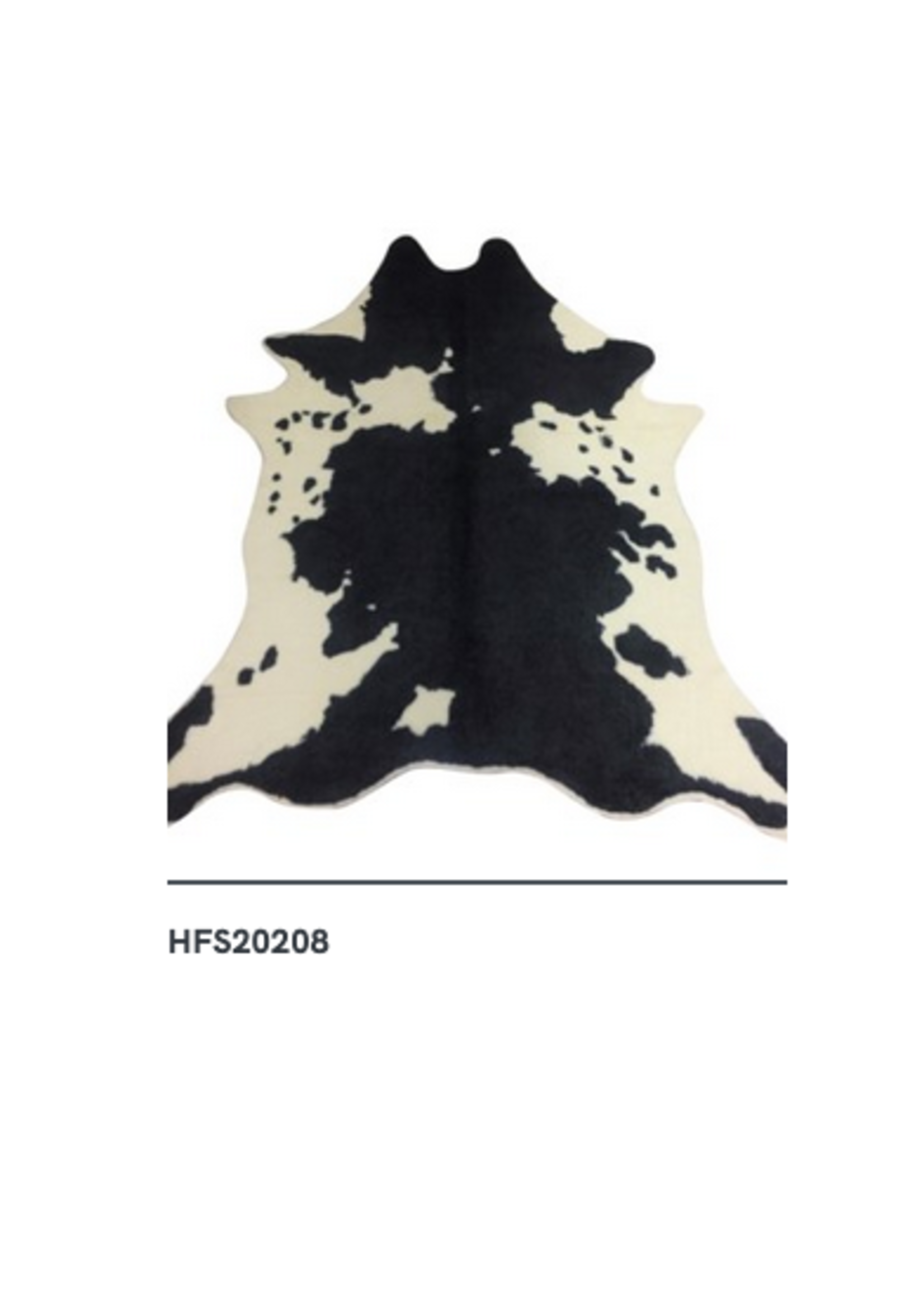 New HF HFS20208 Mara Faux Hide Rug