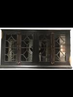 "New VF Diamond Door Console ""Nero Black"" Mirrored"
