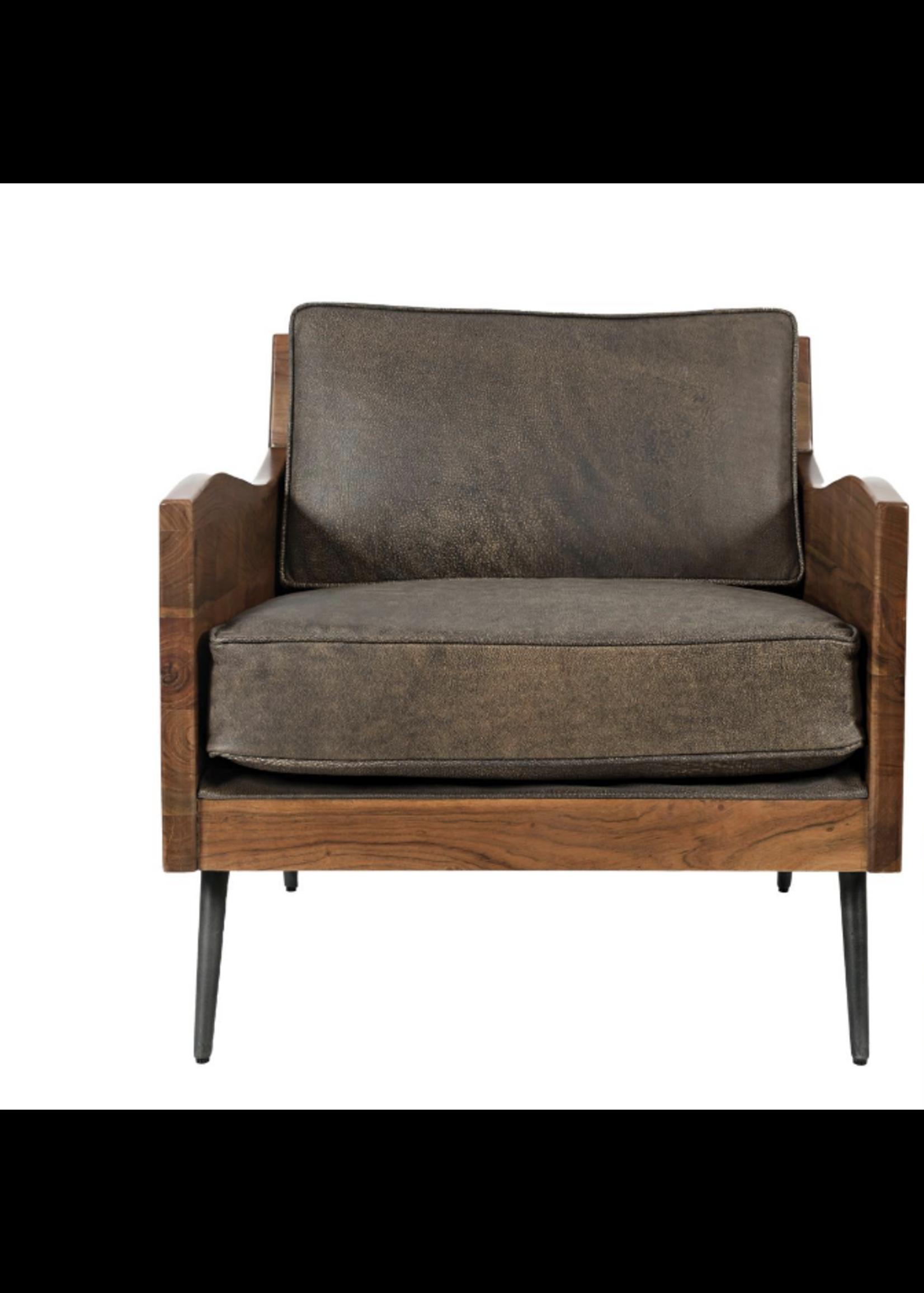 New Karma Accent Chair-Bourbon JO
