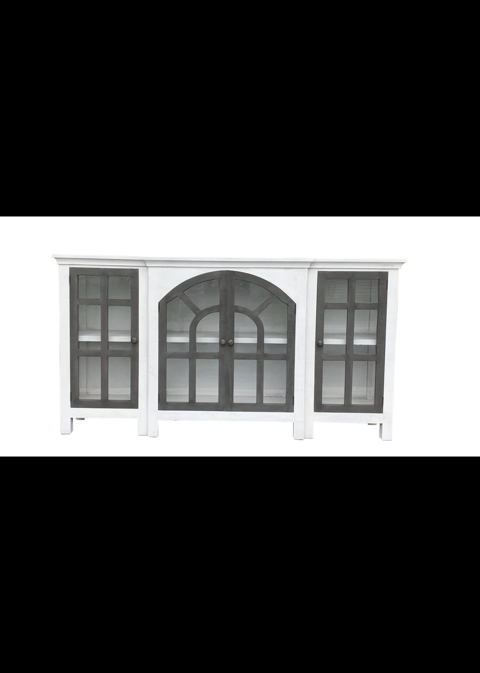 """New Arche Console In """"Pure White Gray Door"""" VF"""