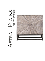 New JO 1929-32 Astral Plains Reclaimed 2 Door Accent Cabinet