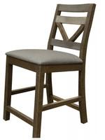 IFD 6551 Loft Brown 24inch Barstools