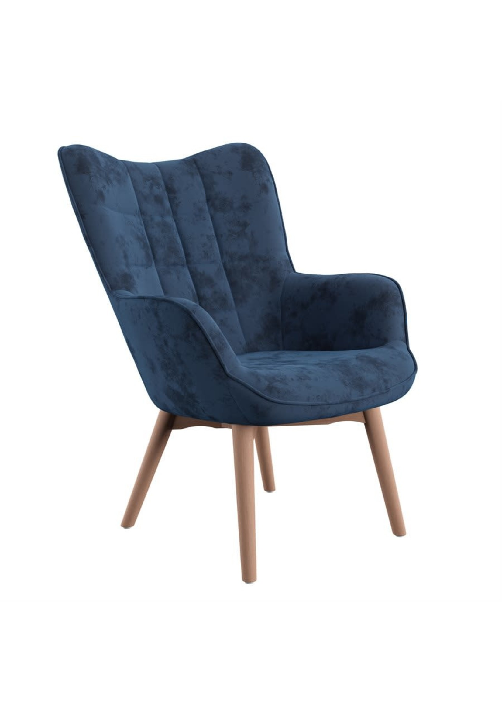 New Navy Accent Chair (EH U3328-05-14)