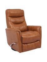 New PH Butterscotch Gemini Real Leather Recliner