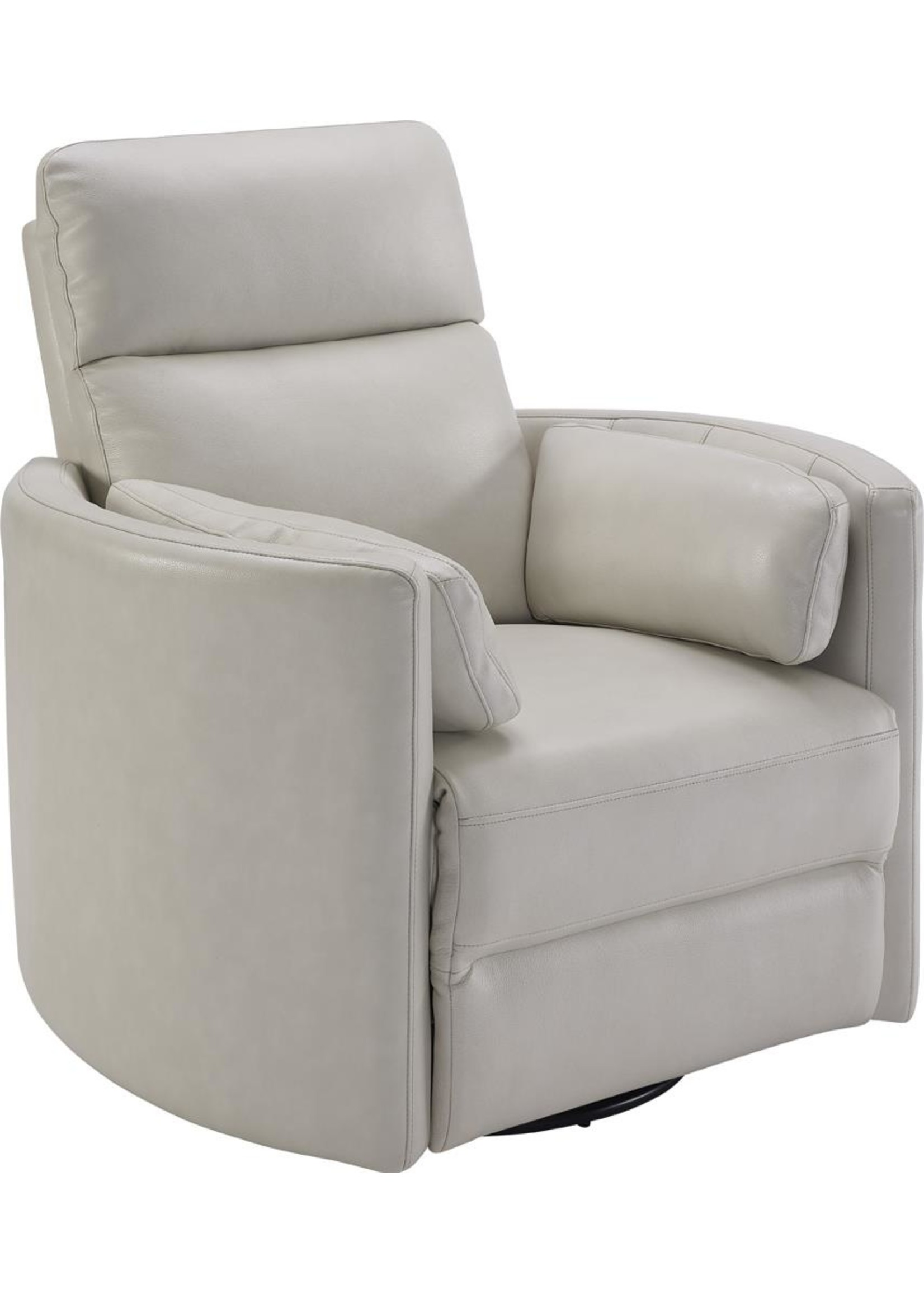 New Ph Radius Ivory Florance Real Leather Recliner