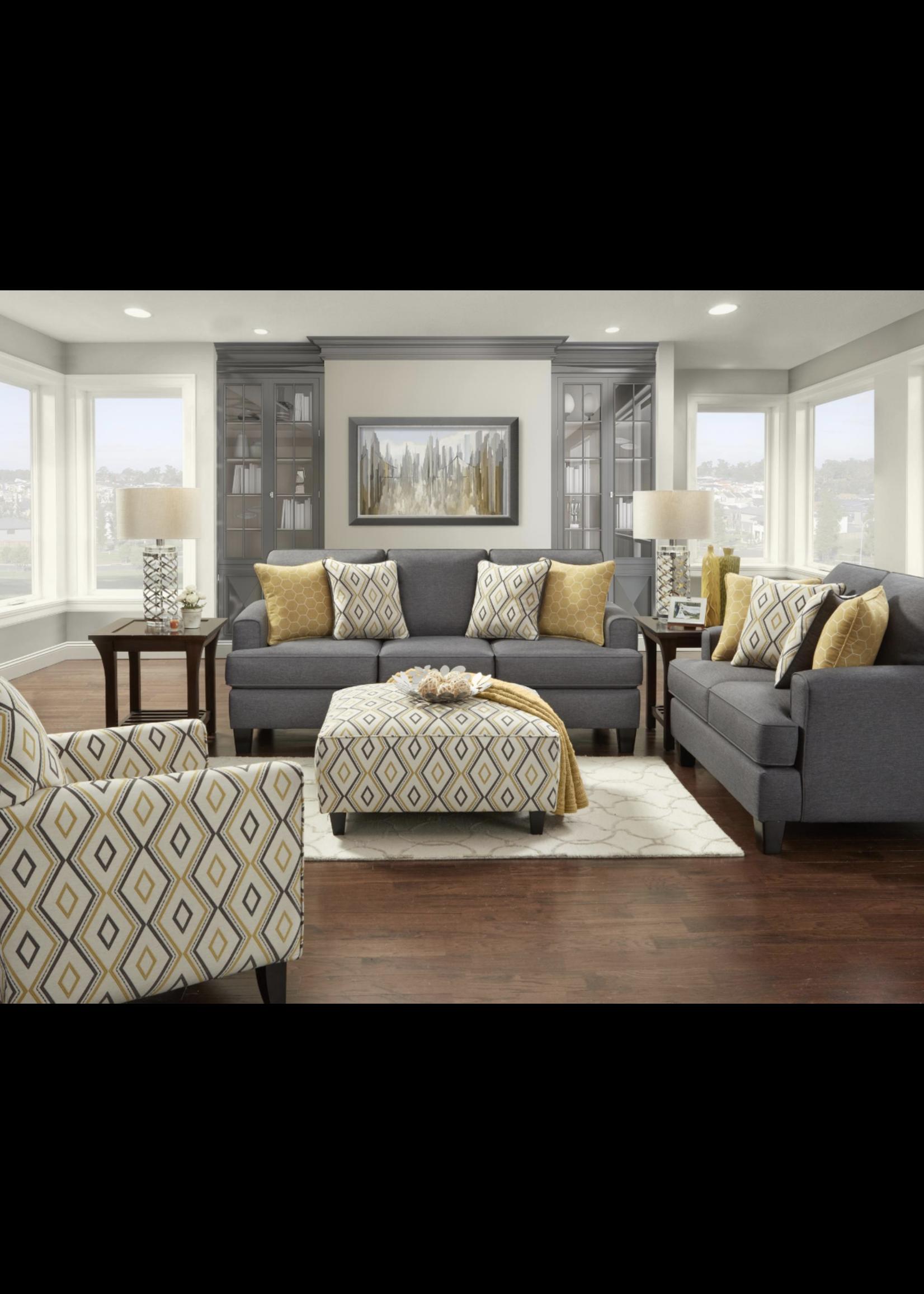 New FUS Maxwell Gray Sofa 2600