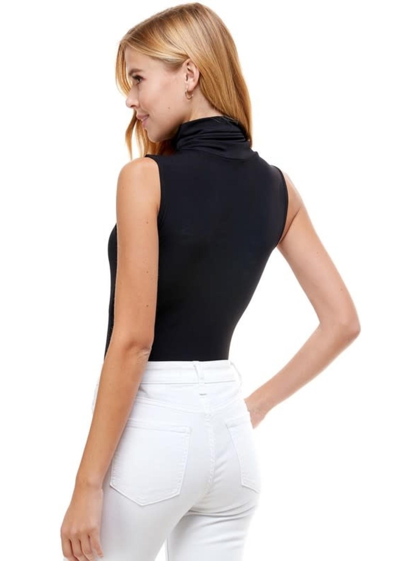 Pretty Follies Sleeveless Turtleneck Bodysuit - CT7533