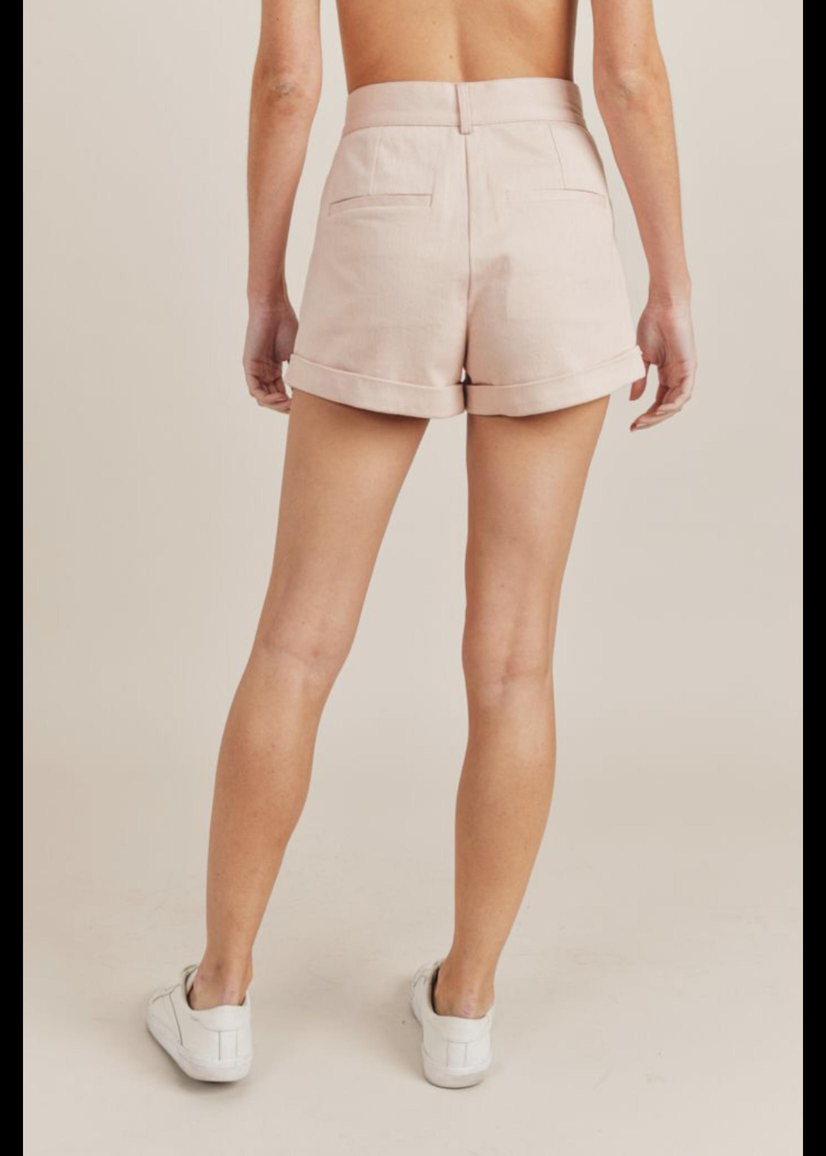 Sadie & Sage Box of Macarons Pleated Shorts - AC281841