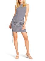 BB Dakota Wait A Minute Ruched Bodycon Dress -BL208113