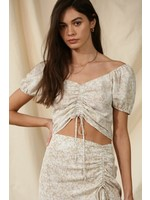 By Together Tea Time Crop Top - L4532