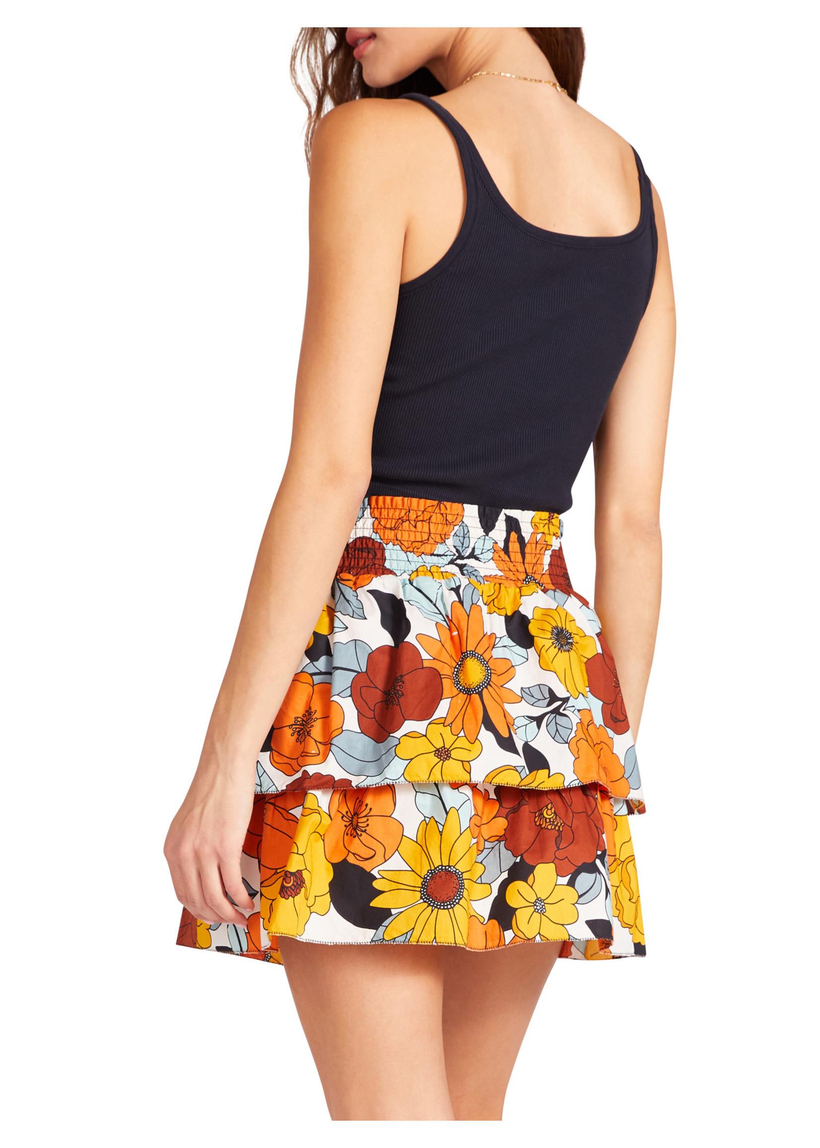 BB Dakota Hustle & Floral Skirt - BL209615
