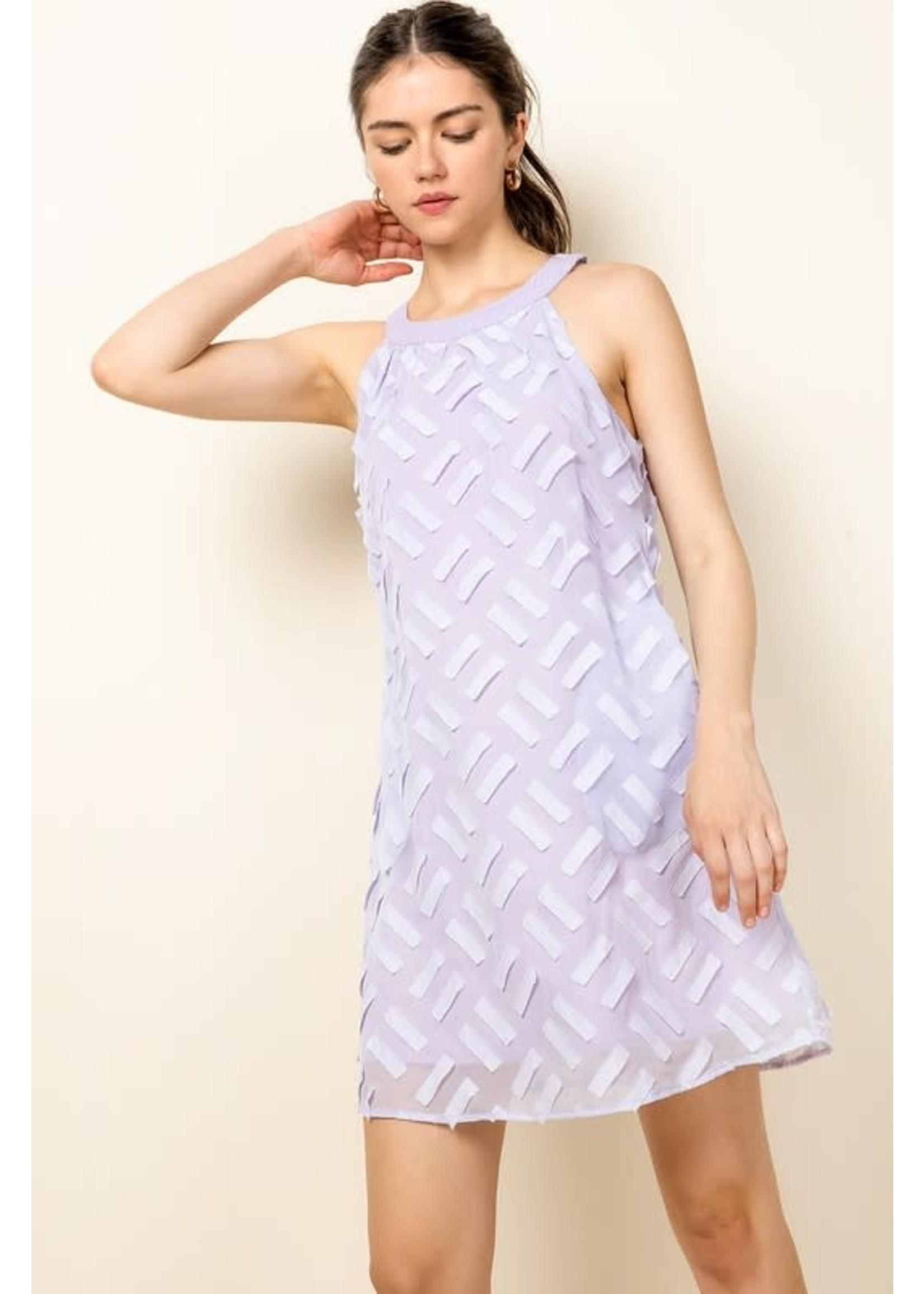 THML Halter Patterned Dress - WCT756
