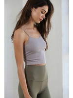 By Together Seamless Strappy Cami Crop Top - S1051