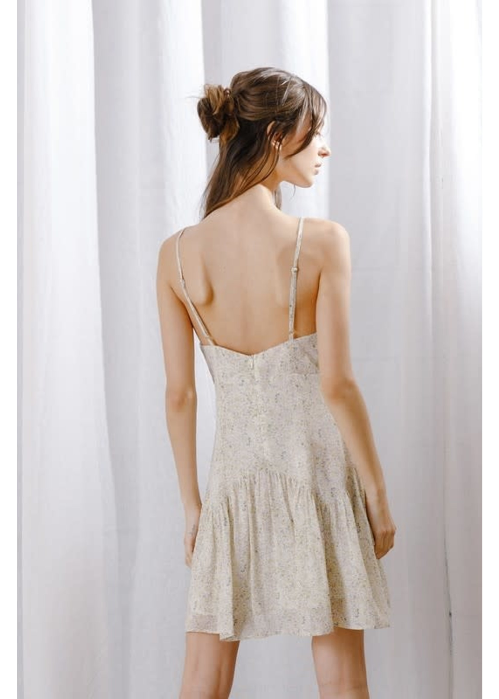 Storia Roses Sweetheart Mini Dress - SD2502C
