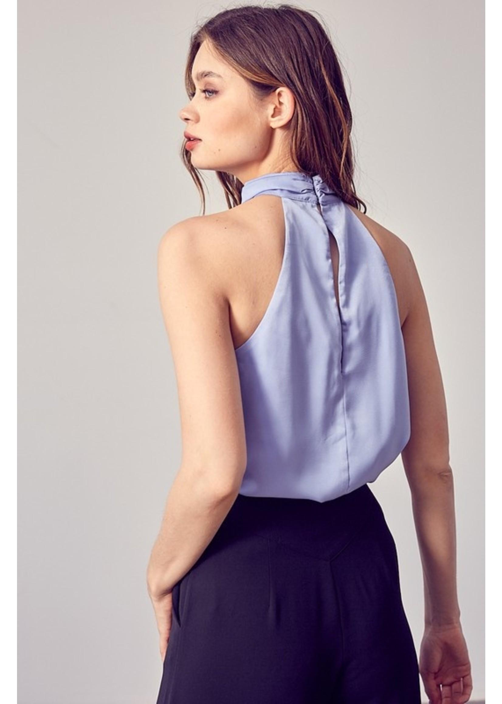 DO + BE Sleeveless Halter Neck Bodysuit - Y20682